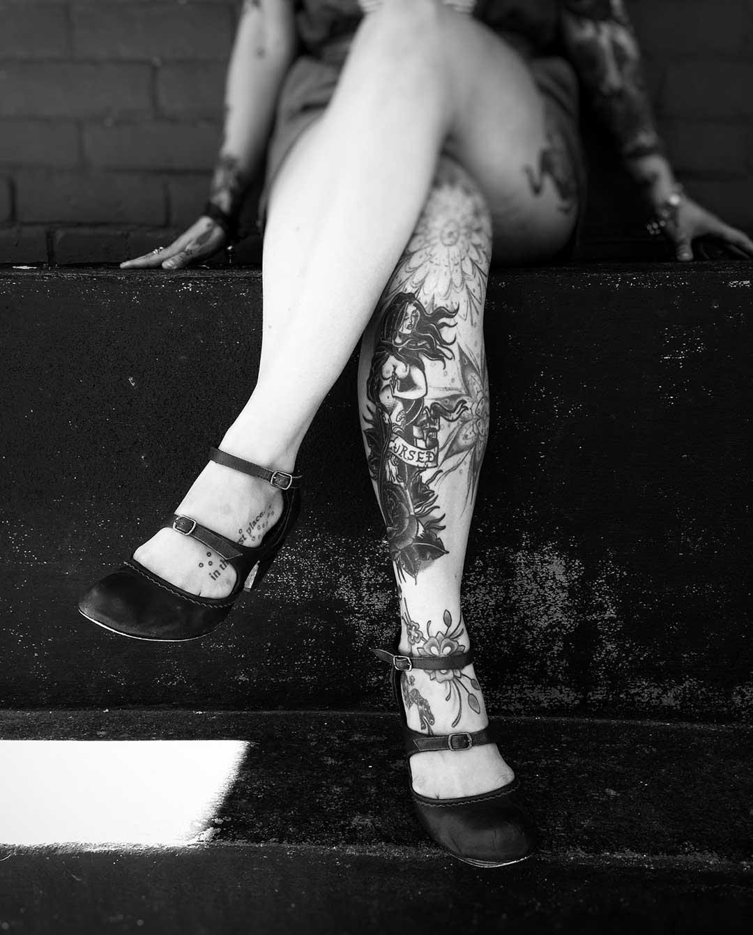 Old School Tattoo de chicas de Pin-ups